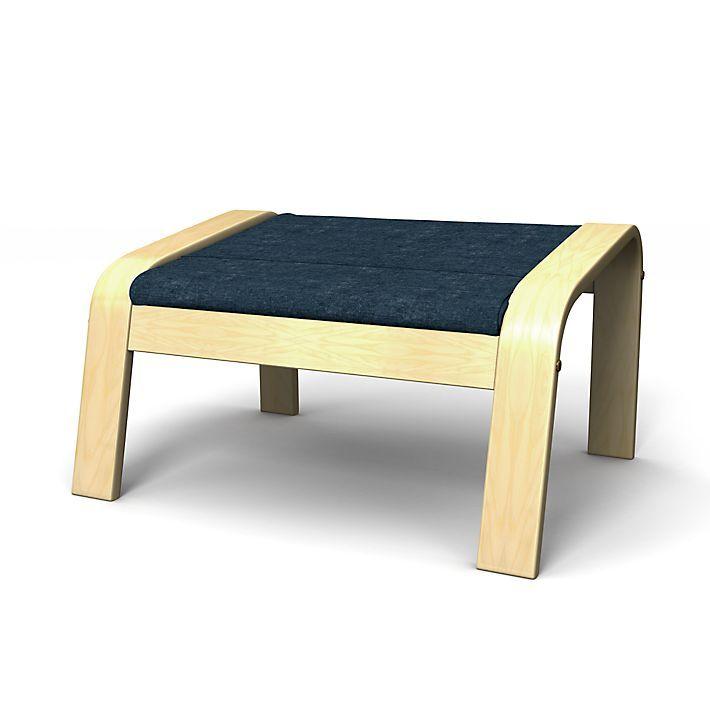 Poang Footstool Covers Regular Fit Using The Fabric Zaragoza