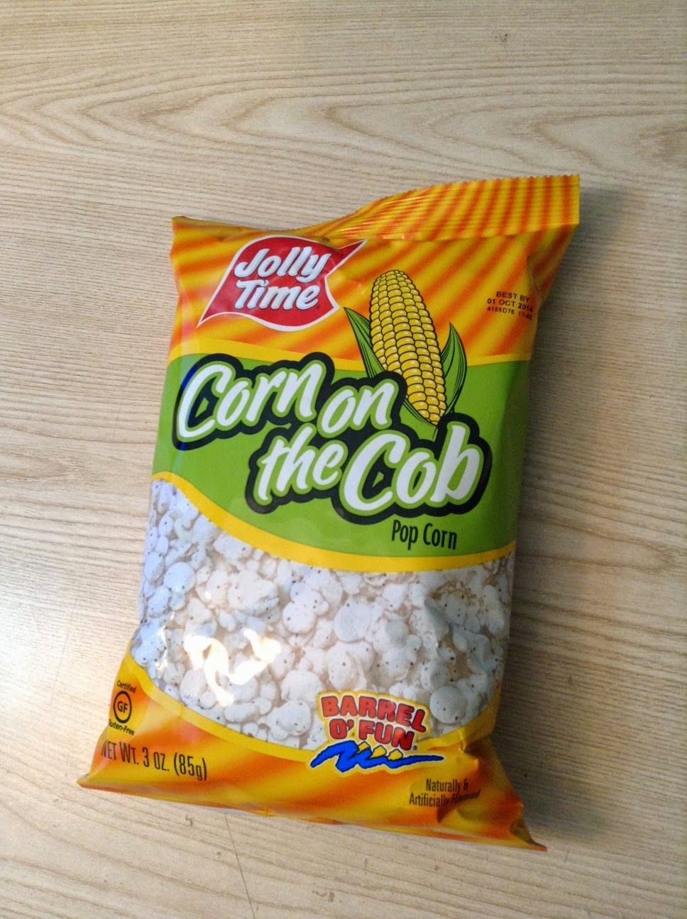 Jolly Time Corn On The Cob Popcorn