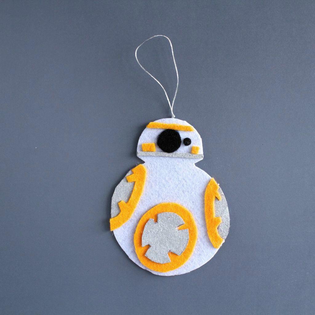 Make This Star Wars Bb 8 Felt Keychain Felt Keychain Disney Felt Ornaments Star Wars Diy