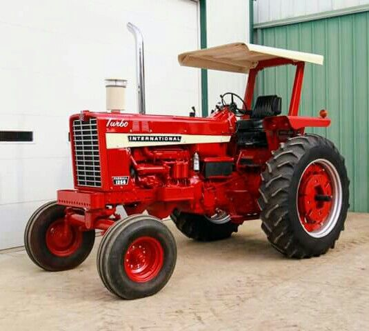 Ih 1256 International Harvester Tractors Farmall Tractors
