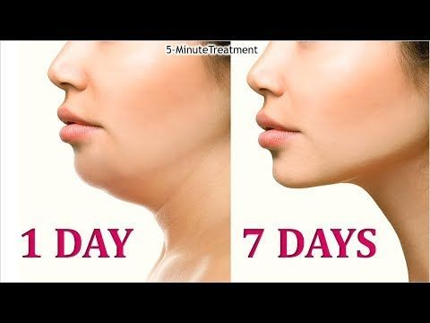 4 easy face exercises for double chin removal and wrinkles