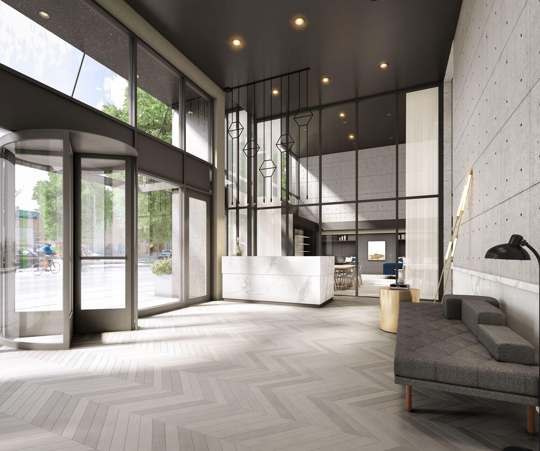 50 Greenpoint Lobby Interior Design Lobby Design Apartment Lobby Design