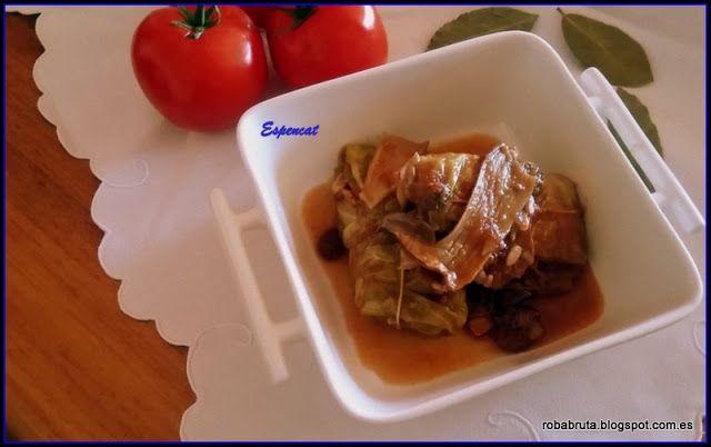 ROBA BRUTA fem cuinetes: LLOM AMB COL