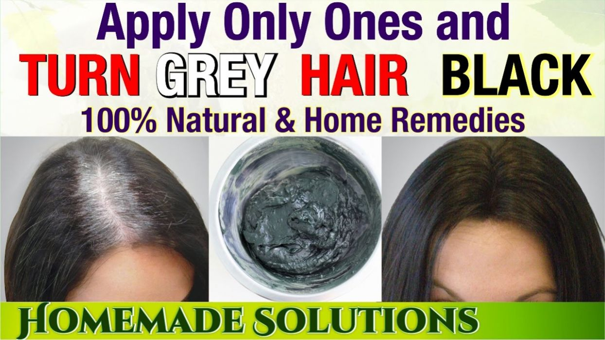 Color Gray Hair Naturally At Home Best Hair Color With Highlights