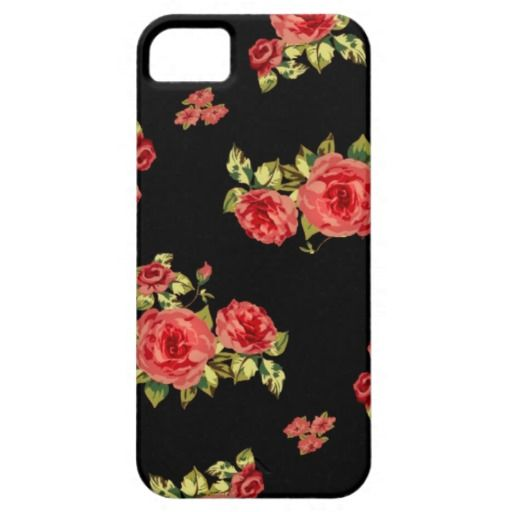 Cute floral pattern iPhone 5