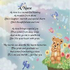 Personalised Coaster FREE GIFT BOX Godson  Poem 21st  Birthday