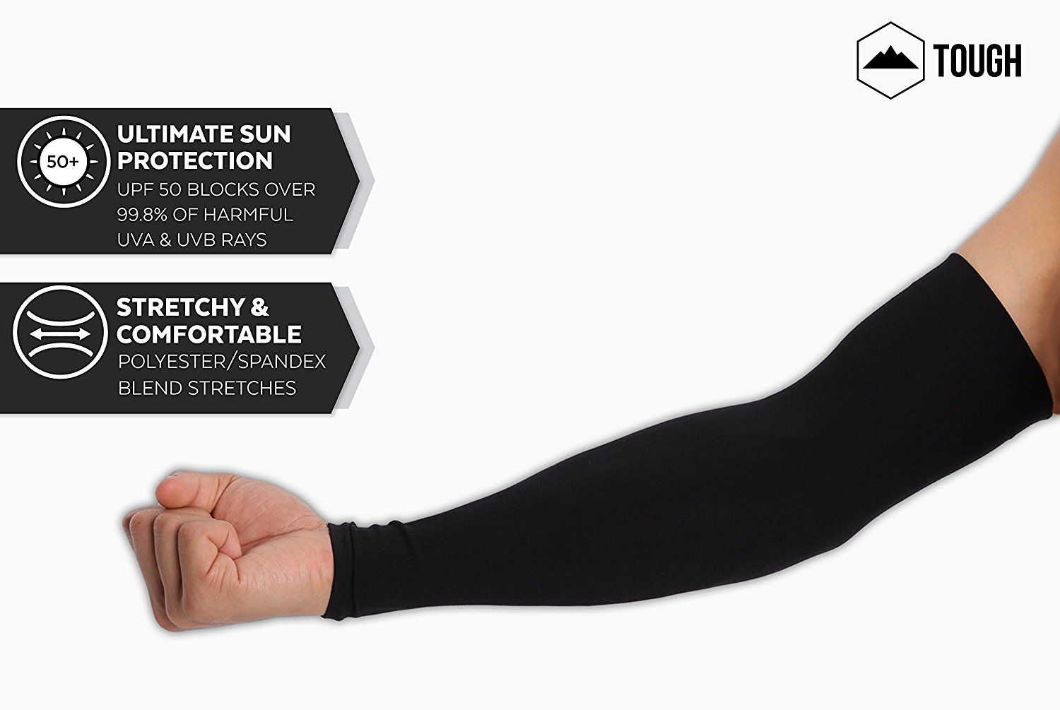 Gifts for Cyclists Women - UV Protection Cooling Arm Sleeves - UPF 50 Long  Sun Sleeves for Men  GiftsforCyclistsWomen 096b05903