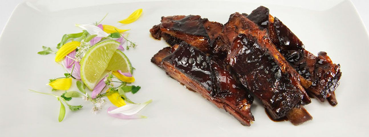 GHT Maker's Mark® Cured Lamb Ribs Recipe