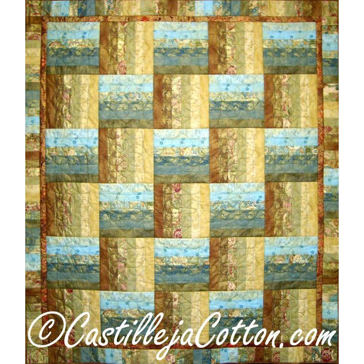 Quilted Wall Hanging or Lap Quilt - Asian Fusion Quilt   Lap quilts ...