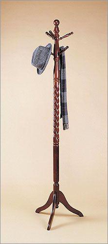 Heirloom Coat Rack Wooden Cherry Twist - Powell Furniture 450Z $48.00