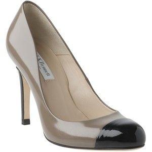 L.K. Bennett Bruton Patent Leather Court Shoes, Smoky Quartz...