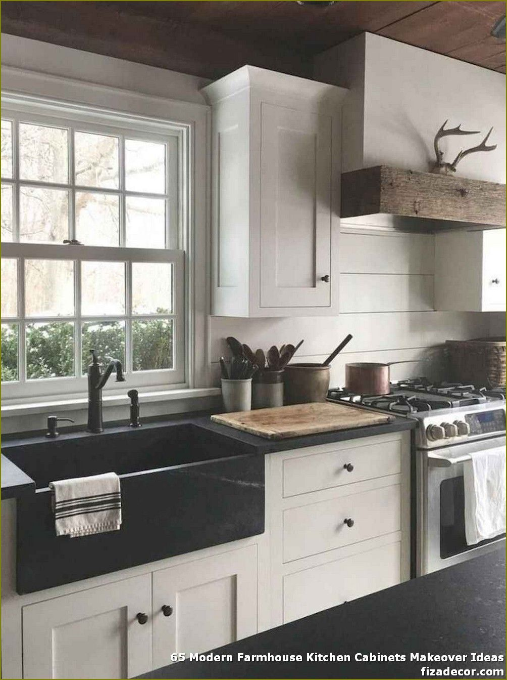 ✓ 65 Modern Farmhouse Kitchen Cabinets Makeover Ideas - Page 11 of 65 - Best Home Decor