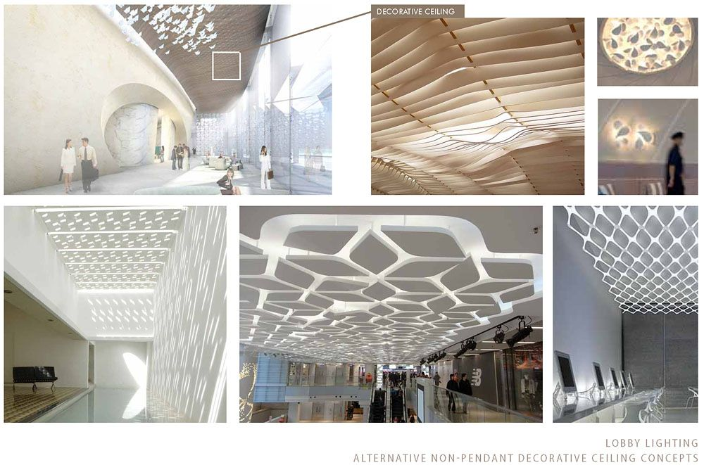Hyatt kal lobby wood ceiling lighting concepts over for Hotel concepts