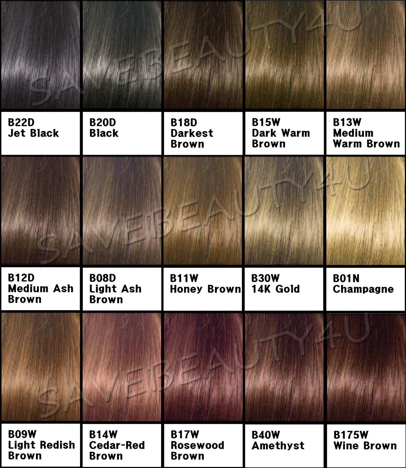 Dark ash brown semi permanent hair color