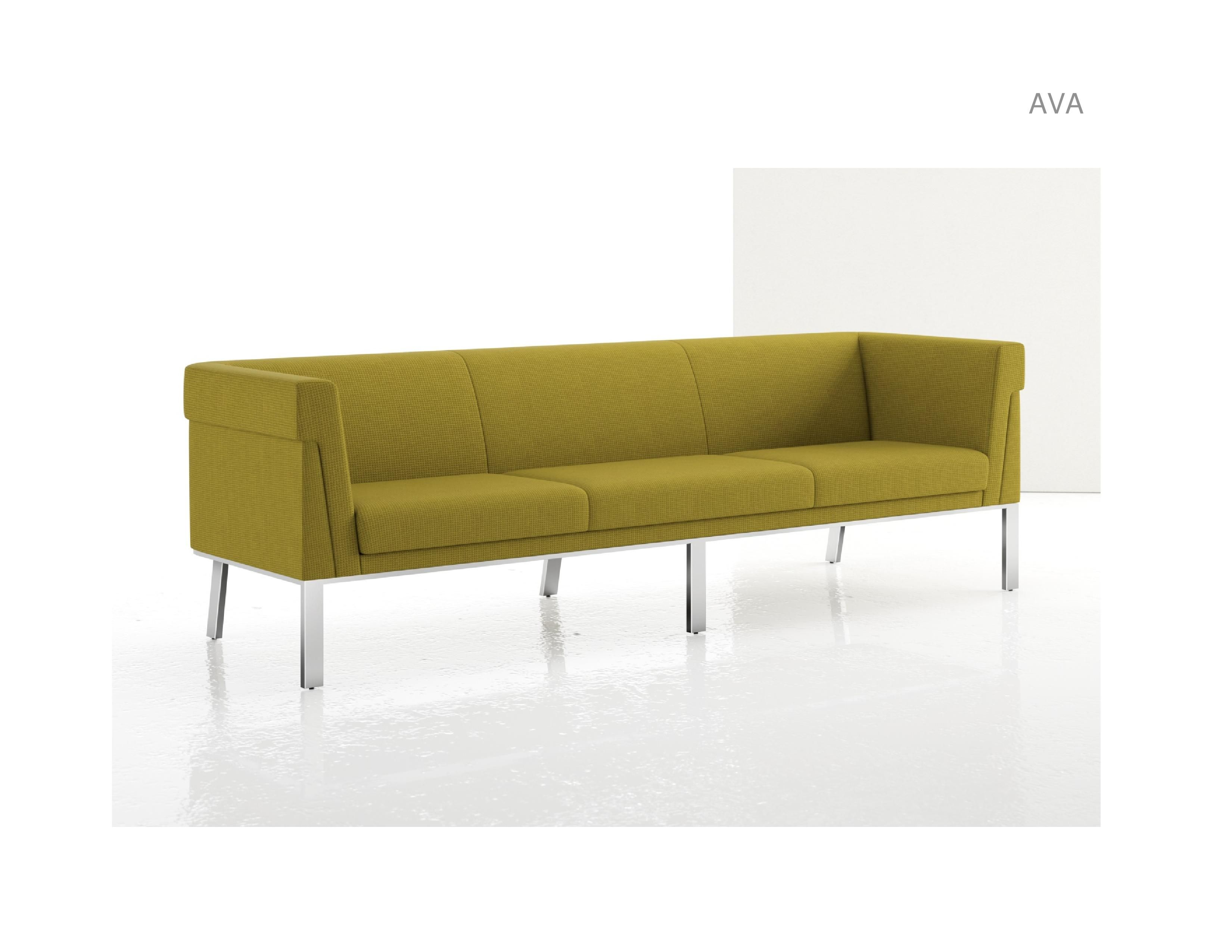 Marvelous Js Ls500U Ava Sofa Upholstered Back Metal Base Elan Home Machost Co Dining Chair Design Ideas Machostcouk