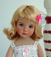 "Monique ""Hannah"" Golden Strawberry Blonde Wig for Dianna Effner Little Darlings"