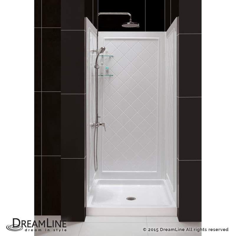 Dreamline Shbw 1438743 01 Qwall 40 D X 38 W Shower Backwall Kit