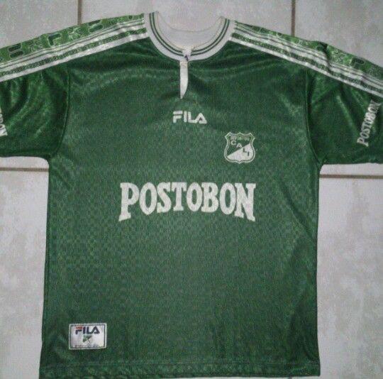 Samuel autobiografía montículo  Vintage FILA Deportivo Cali Colombia Soccer Jersey   Mens tshirts, Mens  tops, T shirt