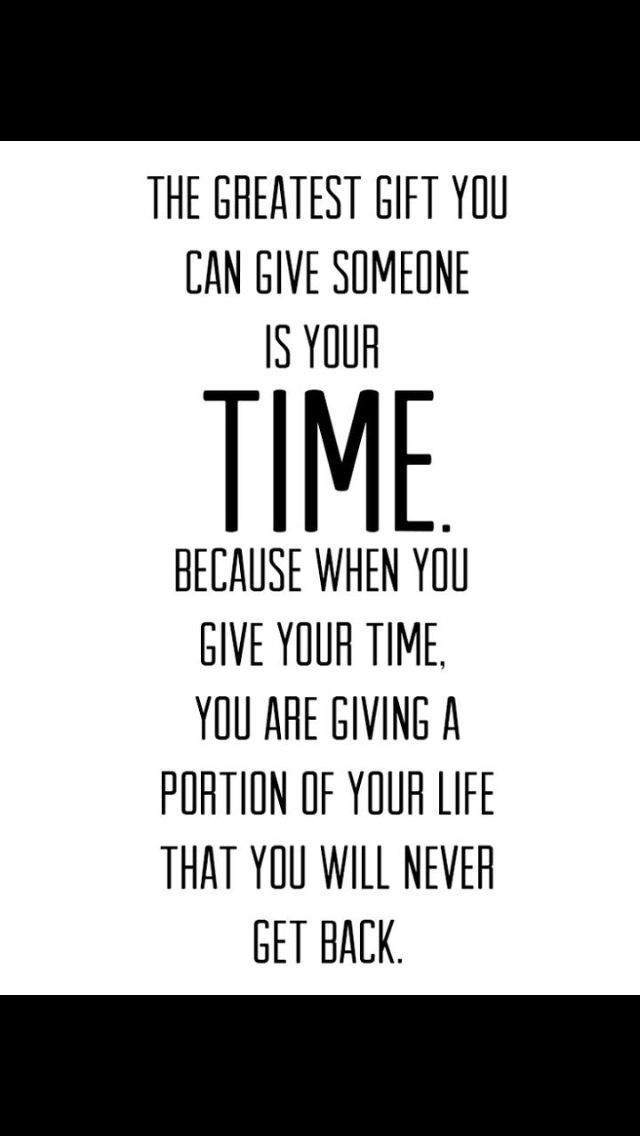 Monday Motivation The Gift Of Time Quotes Life Quotes