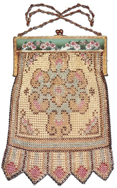 whiting and davis bags antique 1920s - Google Search