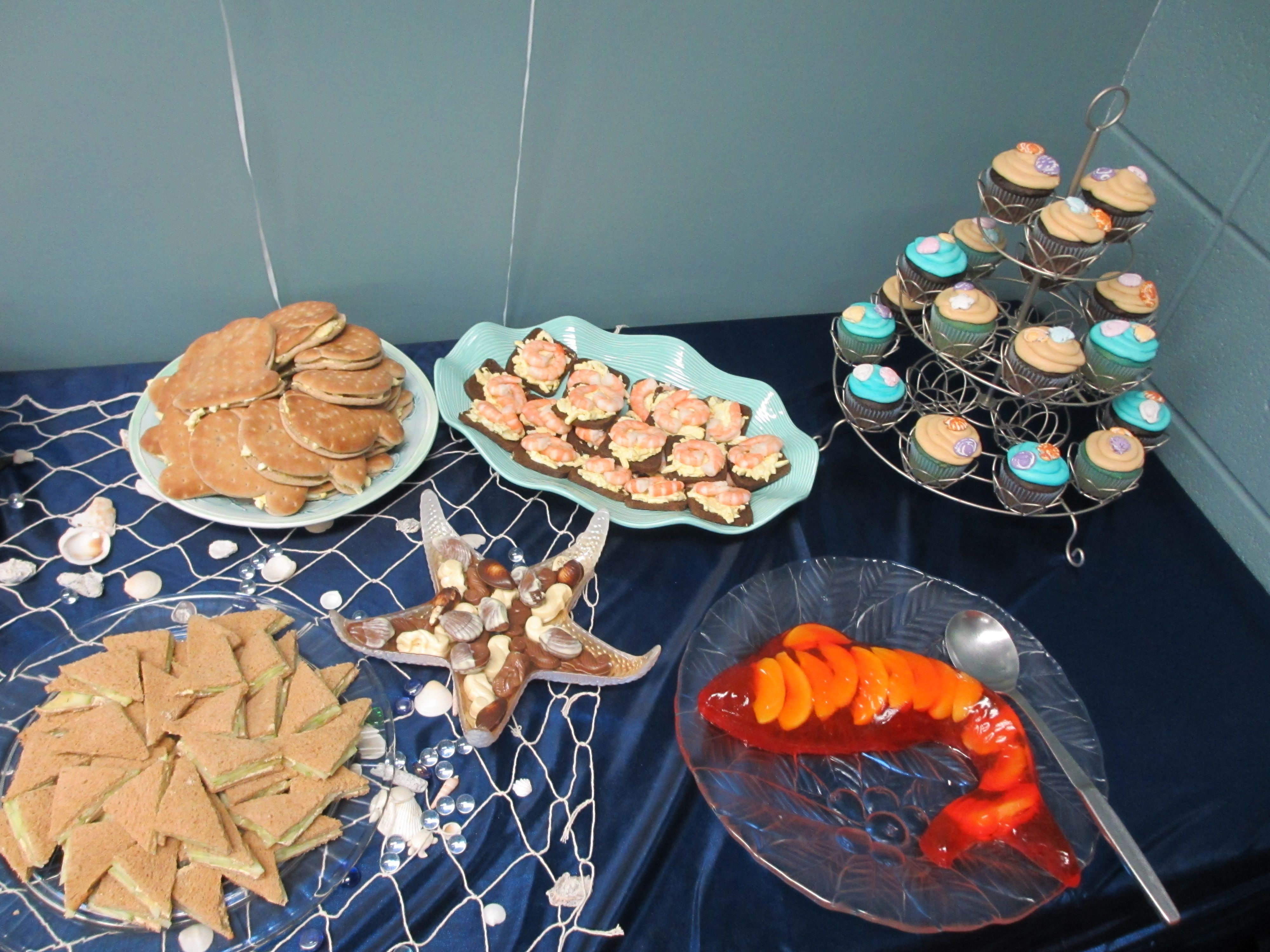 under the sea baby shower party food | Becky's Original ...