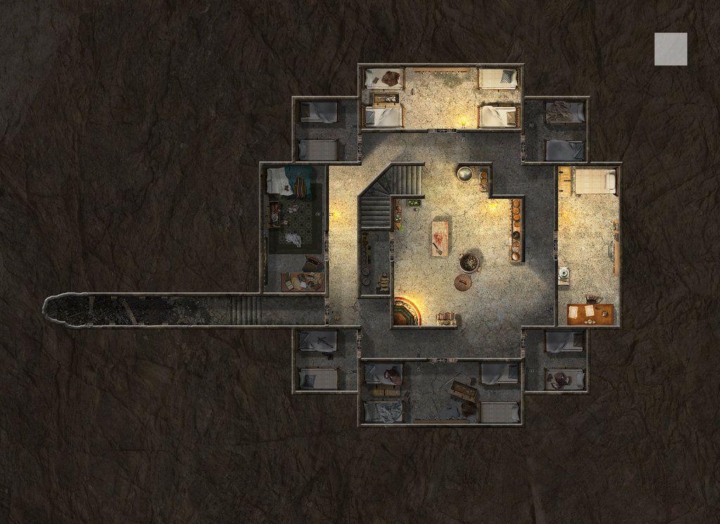 Blackwall Keep Basement By Hero339 On DeviantArt