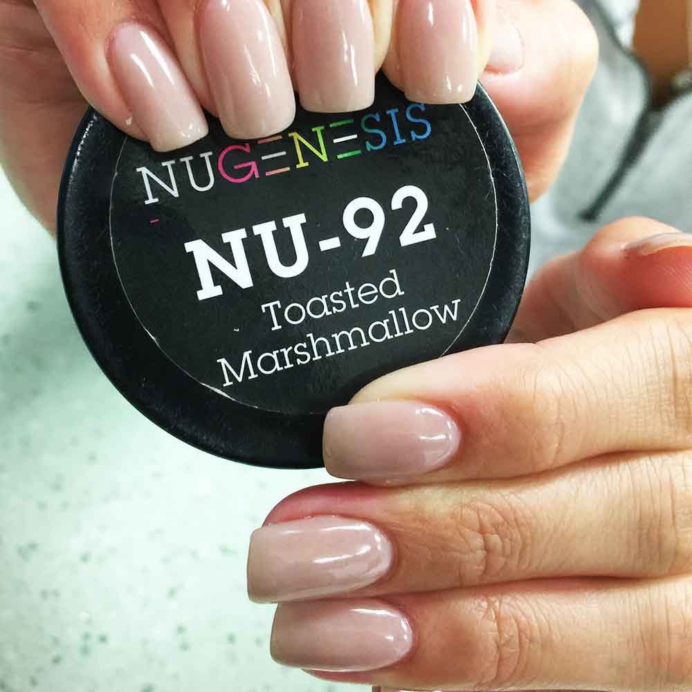 Love This Neutral Shade Of Nail Color In Dip Powder