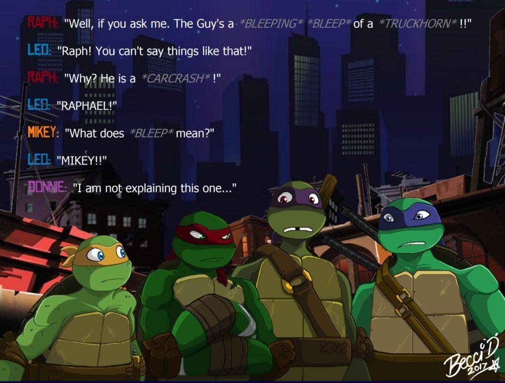 Bad Language By Mysterious D Deviantart Com On Deviantart Tmnt Turtles Tmnt Artwork Ninja Turtles Art