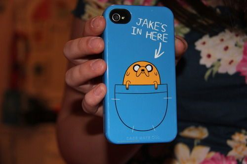 JAKE IS HERE iphone case