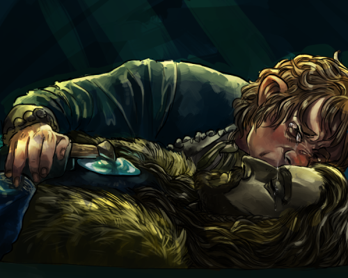 Who cries for Thorin Oakenshield? Maybe we'll see a scene like this in the Extended Edition.