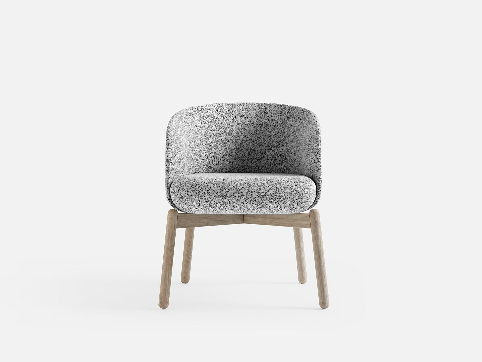 Low Nest Chair, Nest Collection For +Halle By Form Us With Love
