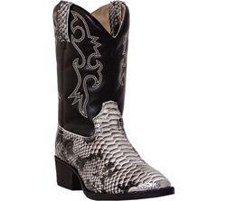Laredo Snake Kids Cowboy Boots For The Kiddos Kids