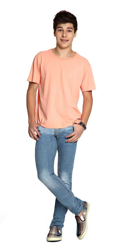 M2A Jeans | Spring Summer 2014 | Teen Boy Lookbook | Pimavera Verão 2014 • calça; jeans; camiseta.