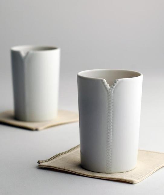 Zipper Mug - With Notch To Hang Your Tea Bag
