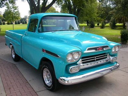 1955-1959 Chevy Trucks - ClicTrucks.net | 1959 Chevy Cars ...