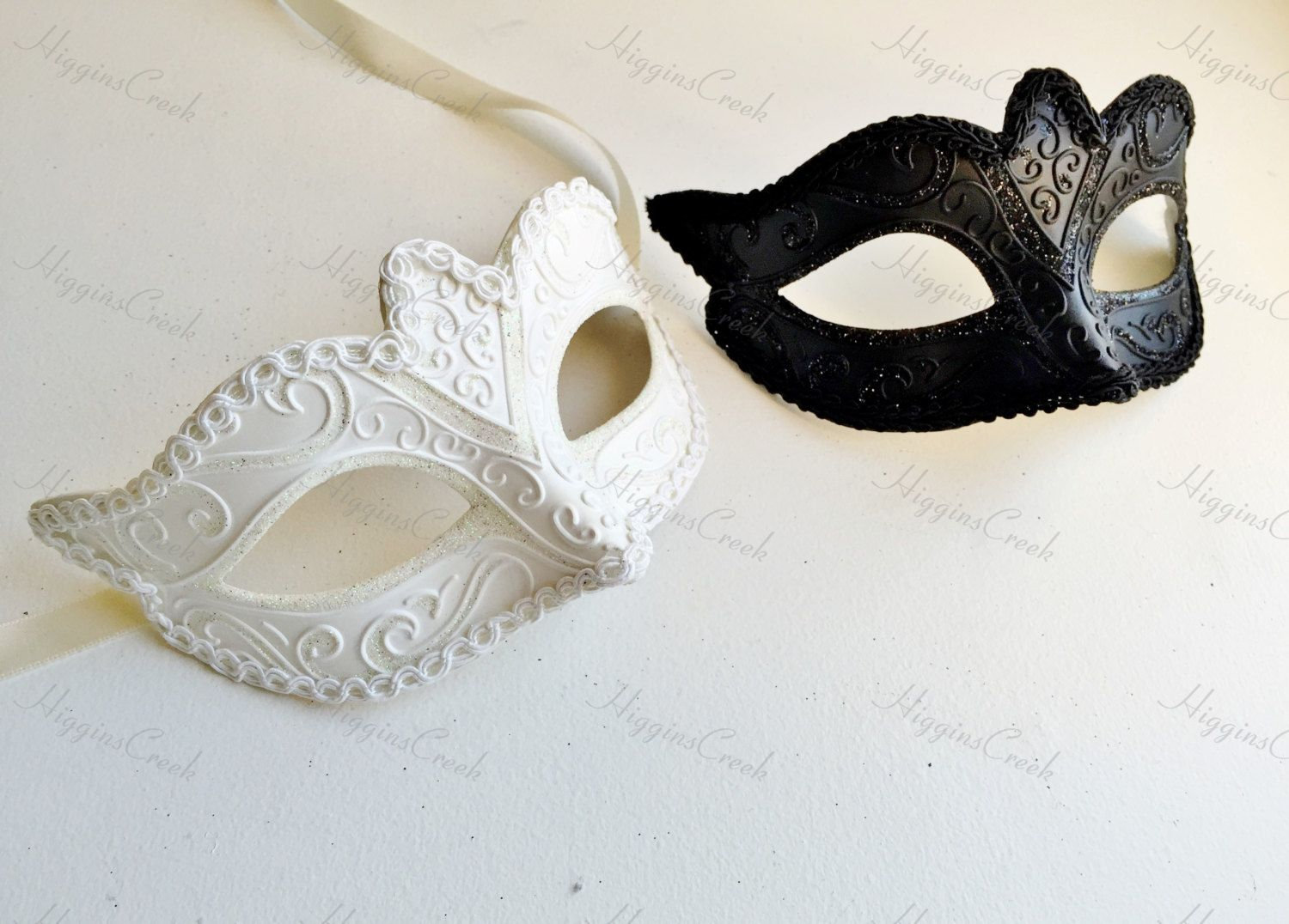 Masquerade mask masquerade mask vine mask metal lace masquerade - White And Black Masquerade Masks For Couples Venetian Masks Mens Masquerade Mask Womens Masquerade Mask Party Masks Black And White Mask