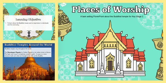 Places of Worship Buddhist Temples KS2 Powerpoint - twinkl - buddhism powerpoint