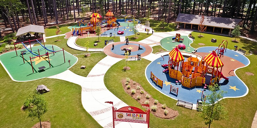Civitan Smiles Park at Kiroli - Circus-Themed Inclusive Playground
