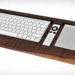 Combine Collective Black Walnut Keyboard Trays
