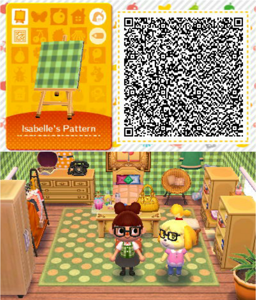 acnl achhd qr code wall floor fabric acnl achhd qr codes pinterest int rieur. Black Bedroom Furniture Sets. Home Design Ideas