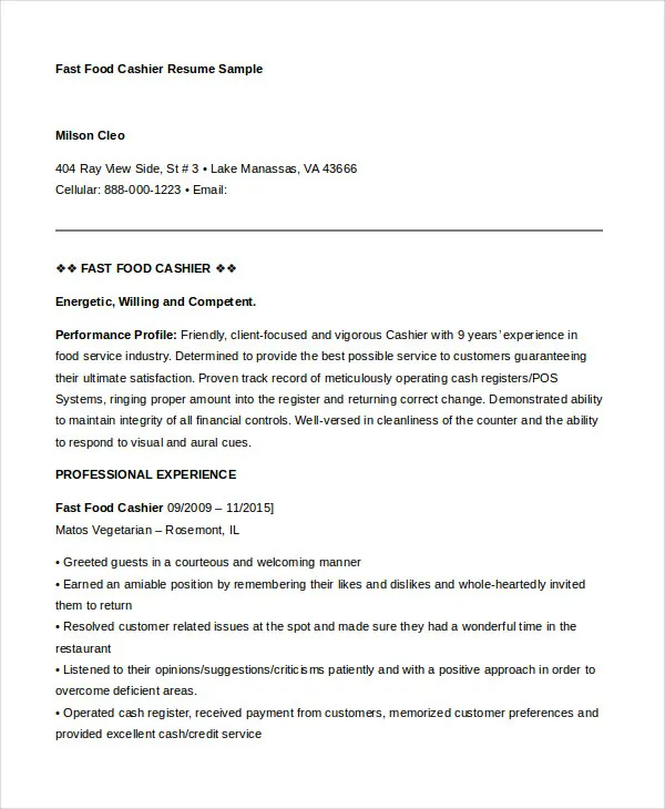 Resumes For Food Service Grocery Store Fast Food Image Search Results Job Resume Examples Job Resume Samples Resume Examples
