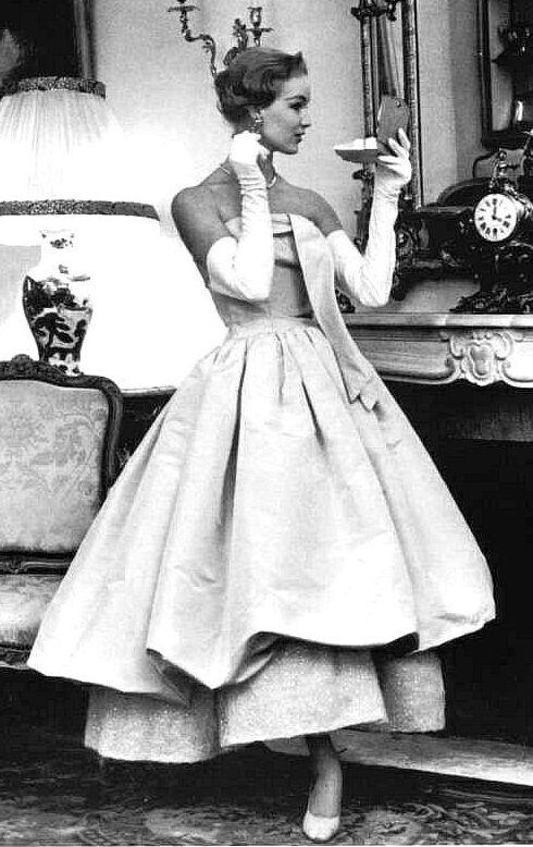 Dress by Cristobal Balenciaga 1955