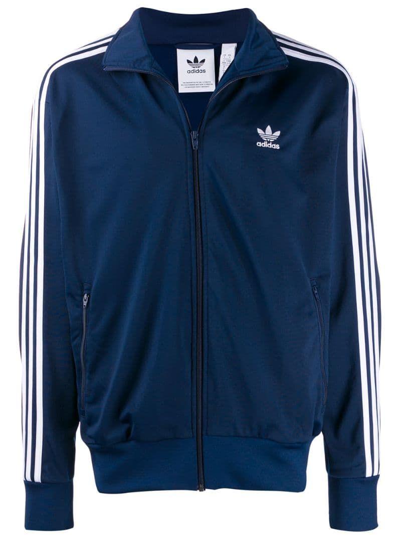Adidas Stripe Detail Jacket in 2020 | Adidas jacket mens