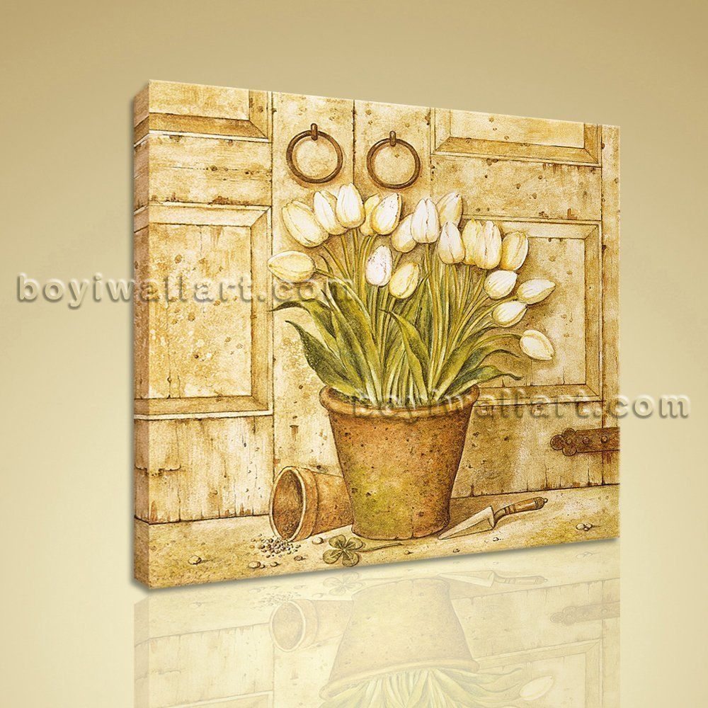Classical oil painting hd print canvas wall art retro abstract