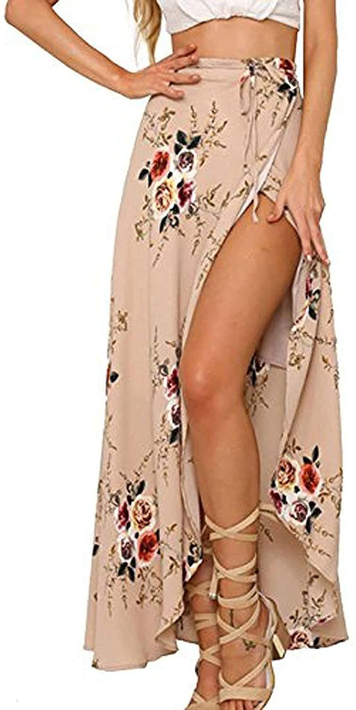 100% cotton Tie closure Beautifu Printed Casual Long Skirts,Wrap Skirt.Boho Skirts Long