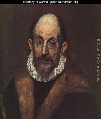 Download Self-Portrait 1604 - El Greco (Domenikos Theotokopoulos) - www.el-greco-foundation.org | El ...