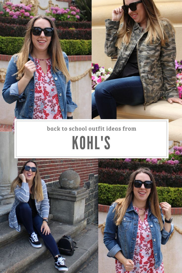 Transitional Outfit Ideas For Back To School