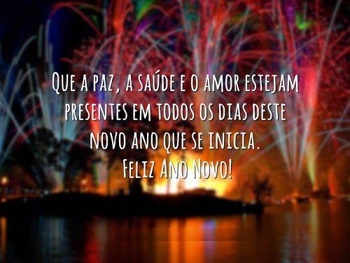 Cartoes De Ano Novo que a paz a saude e o amor Feliz Ano Novo 2015