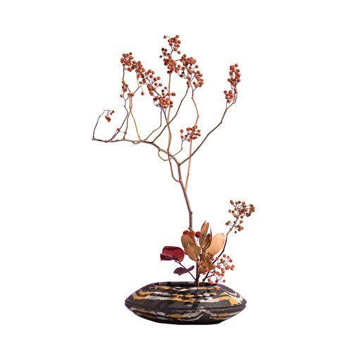 Natura Morta Dark Moribana Vase - Shop Sara Ricciardi online at Artemest