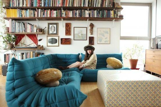 Decoration, Awesome Togo Sofa Furniture Design Ideas: Find Comfort From Togo  Sofa